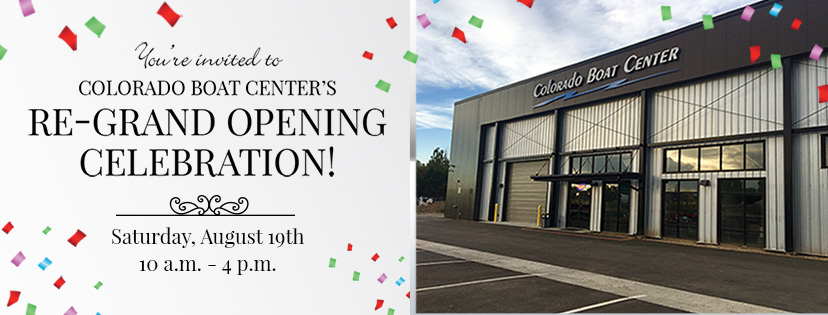Join Us For Our Grand Re-Opening on August 19