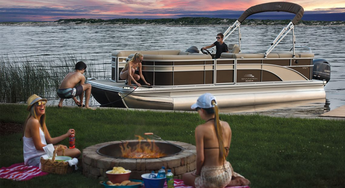 Fun Boat Camping