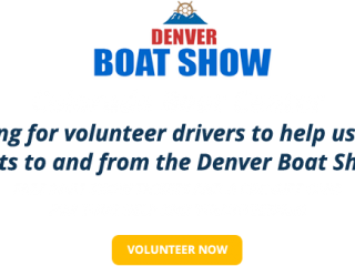 Denver Boat Show Volunteers
